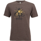 Surly Wingnut Men's T-Shirt, Brown