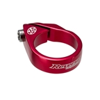 Reverse Bolt Seatpost Clamp, 31.8mm, Red