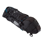 "Black Point Macropod Saddle Bag, 24 x 7 x 5.5"", Black/Blue"