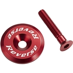 Reverse Ahead Cap With Screw, Red