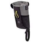 Apidura Backcountry Food Pouch Plus Extended, Gray/Black