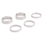 """Ritchey Headset Spacer Classic 1-1/8"""" 2x10mm 3x5mm Silver"""