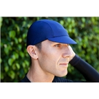 Pace Sportswear Hex-Tek Cycling Cap - UPF 50 Plus, Navy, MD/LG