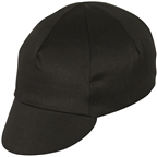 Pace Sportswear Traditional Cycling Cap - Black, One Size
