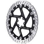 Magura MDR-P Disc Brake Rotor - 203mm, 6-Bolt, For eBike, Silver/Black