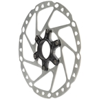 Shimano GRX SM-RT64-M Disc Brake Rotor with External Lockring - 180mm, Center Lock, Silver