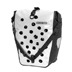 Ortlieb Back-Roller Design QL2.1 20 Liters, White/Black Dots