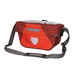 Ortlieb Ultimate Six Plus 5 Liter Handlebar Bag, Signal Red/Dark Chili, E185 included