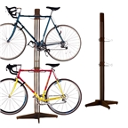 Gear Up Free Standing Rack, Walnut
