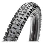 "Maxxis Minion DHF EXO/TR/WT Tubeless Folding Tire, 27.5 x 2.5"", Black"