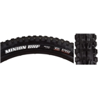 "Maxxis Minion DHF WT/DC/EXO/TR Tubeless Folding Tire, 29 x 2.6"", Black"