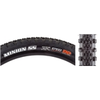 "Maxxis Minion SS DD/TR Tubeless Folding Tire, 29 x 2.3"", Black"