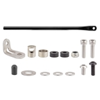 Tubus Rear Rack Mounting Hardware Set for Fly, Black