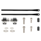 Tubus Rear Rack Mounting Hardware Set with Clamps, 350mm, Black