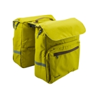 Racktime Twin Ture Pannier Bag, Lime Green