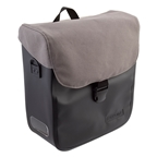 Racktime Tommy Bag Pannier, Black/Gray