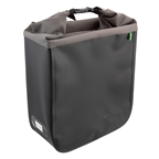 Racktime Donna Bag Pannier, Black/Gray