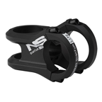 NS Bikes Quantum Lite Stem, 31.8 x 45mm, 0 Degrees, Black