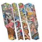 Rie:sel Design Tape 3000 Chain Guard Protection Film Set, Stickerbomb