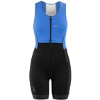 Garneau Sprint Tri Suit - Blue/Black, Women's