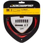 Jagwire 1x Sport Shift Cable Kit SRAM/Shimano, Red
