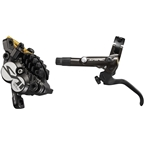 Shimano Saint BL-M820-B/BR-M820 Disc Brake and Lever - Front, Hydraulic, Post Mount, Finned Metal Pads, Black