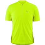 Garneau Connection 2 Jersey - Bright Yellow, Short Sleeve, Men's