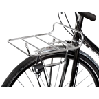 Pelago Commuter Front Rack: Large, Polished, Stainless Steel
