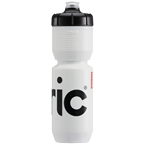 Fabric Gripper Insulated Water Bottle -  650ml, White/Black