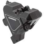 Shimano Altus BR-UR300 Rear Flat-Mount Hydraulic Disc Brake Caliper with Resin Pads withouth Fins, Black
