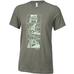 All-City Damn Fine Men's T-Shirt - Military Green