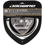 Jagwire 1x Elite Sealed Shift Cable Kit SRAM/Shimano with Polished Ultra-Slick Cable, White
