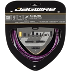 Jagwire 1x Elite Link Shift Cable Kit SRAM/Shimano with Polished Ultra-Slick Cable, Ltd. Purple