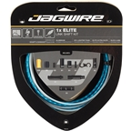 Jagwire 1x Elite Link Shift Cable Kit SRAM/Shimano with Polished Ultra-Slick Cable, Blue