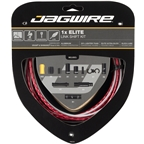 Jagwire 1x Elite Link Shift Cable Kit SRAM/Shimano with Polished Ultra-Slick Cable, Red