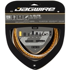 Jagwire 1x Elite Link Shift Cable Kit SRAM/Shimano with Polished Ultra-Slick Cable, Gold