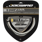 Jagwire 1x Elite Link Shift Cable Kit SRAM/Shimano with Polished Ultra-Slick Cable, Silver