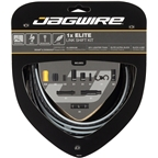 Jagwire 1x Elite Link Shift Cable Kit SRAM/Shimano with Polished Ultra-Slick Cable, Black