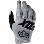 Fox Racing Youth Dirtpaw Race Gloves - Gray, Full Finger, Youth