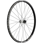 "DT Swiss H 1700 Spline 30 Front Wheel: 29"", 15 x 110mm Boost, 6-Bolt, Black, Ebike"