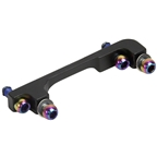 SRAM Post Bracket 40P Standard Mount - Includes Bracket and Stainless Steel Rainbow Bolts