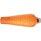 Big Agnes, Inc. Torchlight UL 30F Sleeping Bag - 850-Fill DownTek, Orange/Gray, Regular