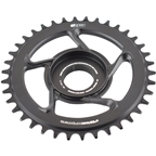 e*thirteen by The Hive e*spec Aluminum Direct Mount Chainring 38t for Shimano E8000, Black