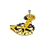 Kogel Bearings Kolossos Oversized Pulley Cage, Shim R9100 - Gold