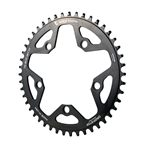 Wolf Tooth Components  5x110BCD CX/Road (Flat Top) Chainring, 46T - Black