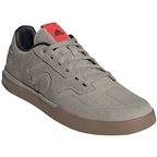 Five Ten Sleuth Men's Flat Shoe: Shock Red/Sesame/Feather Gray