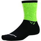 Swiftwick Vision Six Impression Socks - 6 inch, Quest