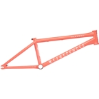 "We The People Paradox BMX Frame - 21.25"" TT, Matte Coral Red"