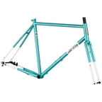 All-City Super Professional Frameset - 700c / 650b, Steel, Blue Panther