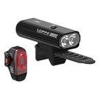 Lezyne Connect Smart 1000XL Headlight and KTV Pro Smart Taillight Set: Black